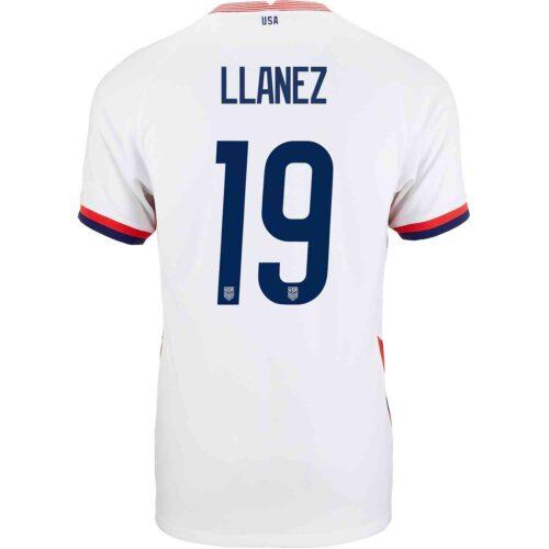2020 Nike Ulysses Llanez USMNT Home Jersey