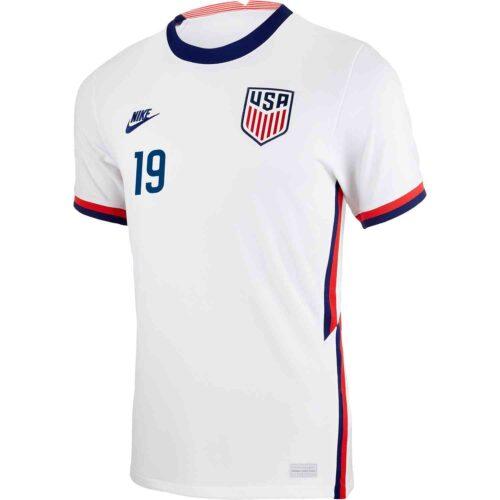 2020 Nike Josh Sargent USMNT Home Jersey