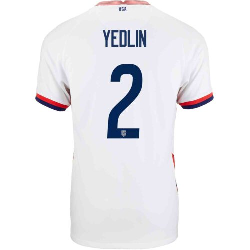 2020 Nike DeAndre Yedlin USMNT Home Jersey