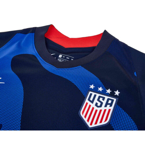 2020 Womens Nike 4-Star USWNT Away Jersey
