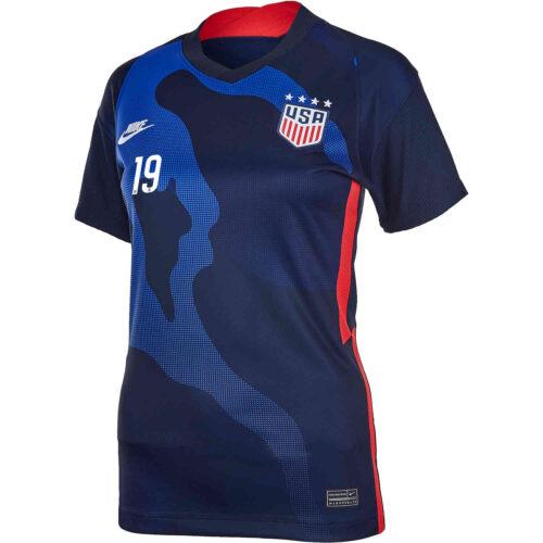 2020 Womens Nike Crystal Dunn USWNT Away Jersey