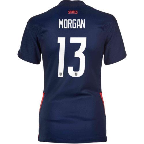 2020 Womens Nike Alex Morgan USWNT Away Jersey