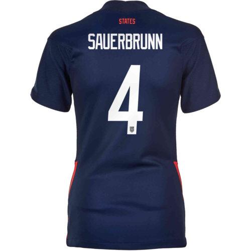 2020 Womens Nike Becky Sauerbrunn USWNT Away Jersey