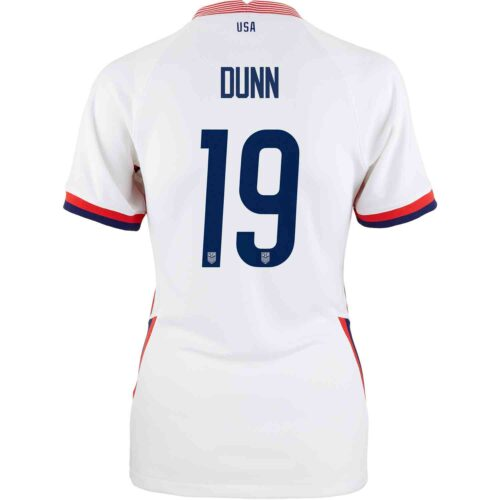 2020 Womens Nike Crystal Dunn USWNT Home Jersey