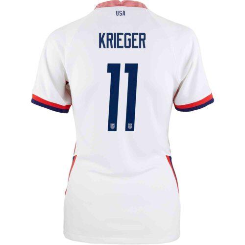 2020 Womens Nike Ali Krieger USWNT Home Jersey