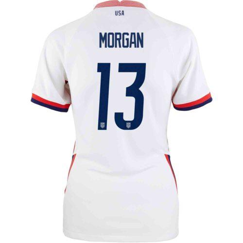 2020 Womens Nike Alex Morgan USWNT Home Jersey