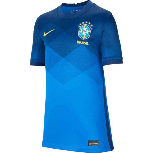 2020 Kids Nike Brazil Away Jersey
