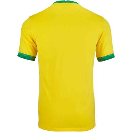 2020 Kids Nike Brazil Home Jersey