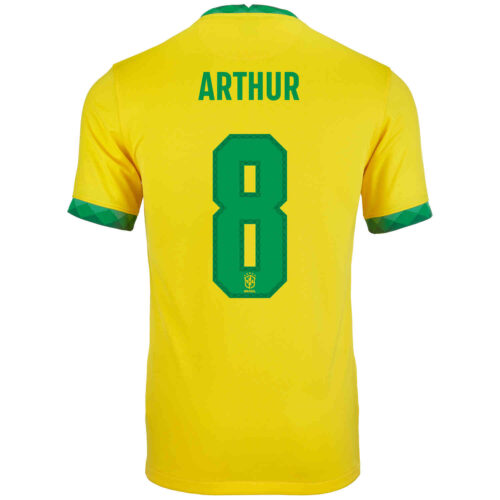 2020 Kids Nike Arthur Brazil Home Jersey
