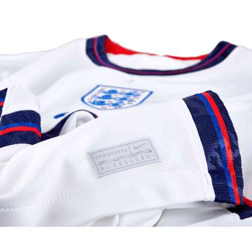 2020 Kids Nike England Home Jersey