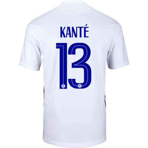 2020 Kids Nike N'Golo Kante France Away Jersey