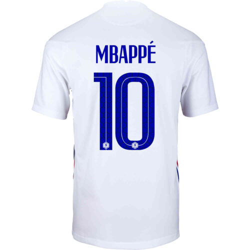 2020 Kids Nike Kylian Mbappe France Away Jersey