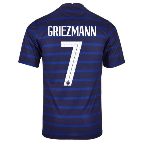 2020 Kids Nike Antoine Griezmann France Home Jersey