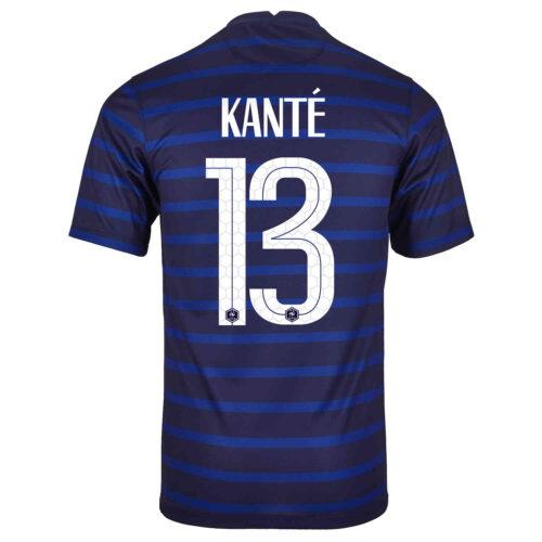 2020 Kids Nike N'Golo Kante France Home Jersey