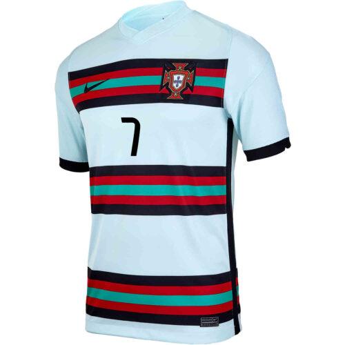 2020 Kids Nike Cristiano Ronaldo Portugal Away Jersey