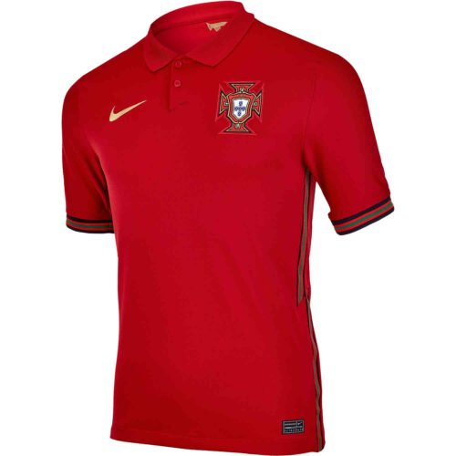 2020 Kids Nike Portugal Home Jersey