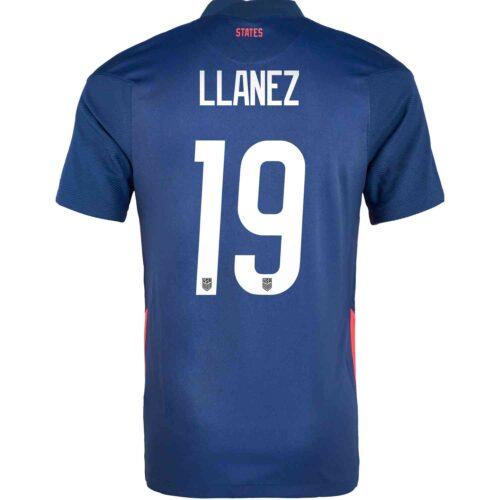 2020 Kids Nike Ulysses Llanez USMNT Away Jersey