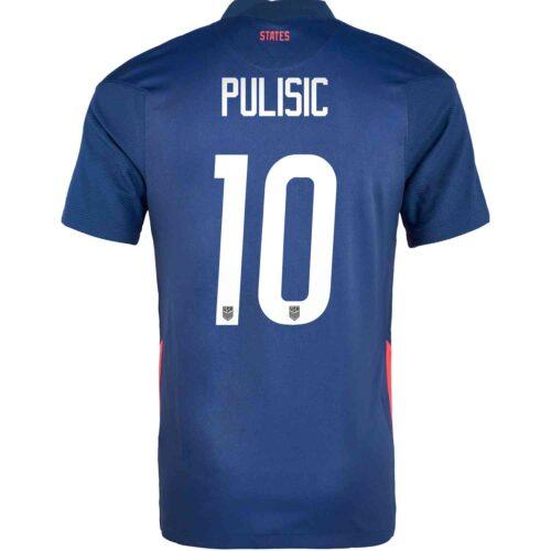 2020 Kids Nike Christian Pulisic USMNT Away Jersey
