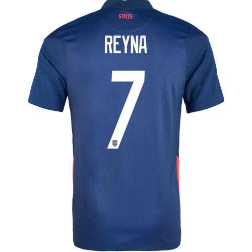 2020 Kids Nike Giovanni Reyna USMNT Away Jersey