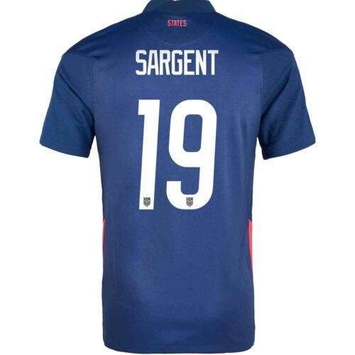 2020 Kids Nike Josh Sargent USMNT Away Jersey