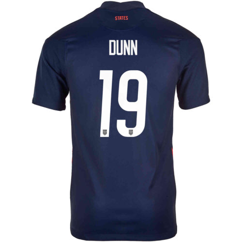 2020 Kids Nike Crystal Dunn USWNT Away Jersey