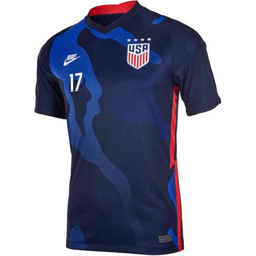 2020 Kids Nike Tobin Heath USWNT Away Jersey