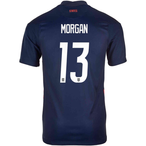 2020 Kids Nike Alex Morgan USWNT Away Jersey