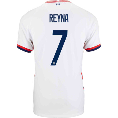 2020 Kids Nike Giovanni Reyna USMNT Home Jersey