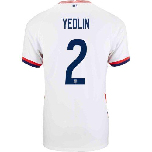 2020 Kids Nike DeAndre Yedlin USMNT Home Jersey