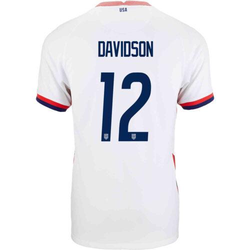2020 Kids Nike Tierna Davidson USWNT Home Jersey