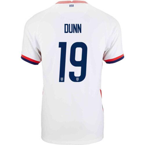 2020 Kids Nike Crystal Dunn USWNT Home Jersey