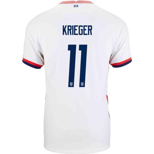 2020 Kids Nike Ali Krieger USWNT Home Jersey