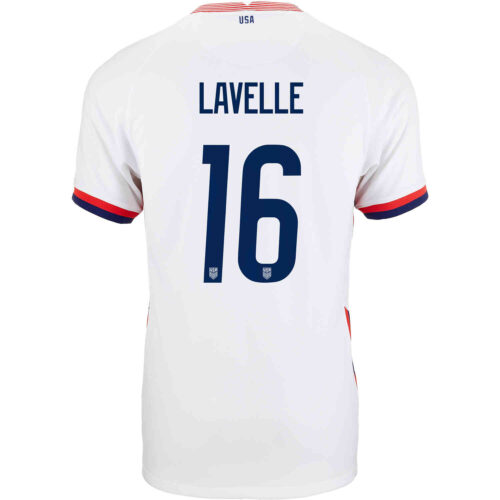 2020 Kids Nike Rose Lavelle USWNT Home Jersey