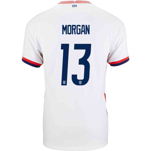 2020 Kids Nike Alex Morgan USWNT Home Jersey