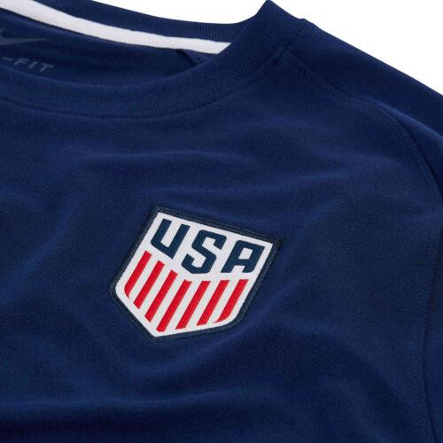 Nike USA Pre-match Top – Loyal Blue/White/White