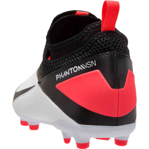 Kids Nike Phantom Vision 2 Academy FG – White