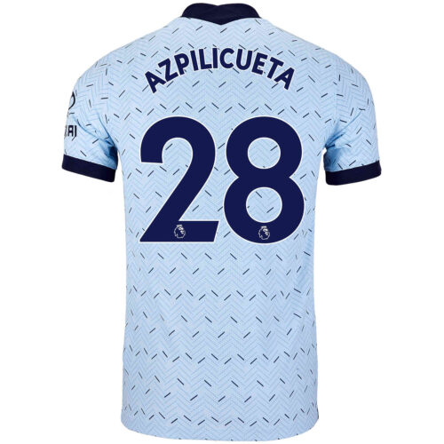 2020/21 Nike Cesar Azpilicueta Chelsea Away Match Jersey