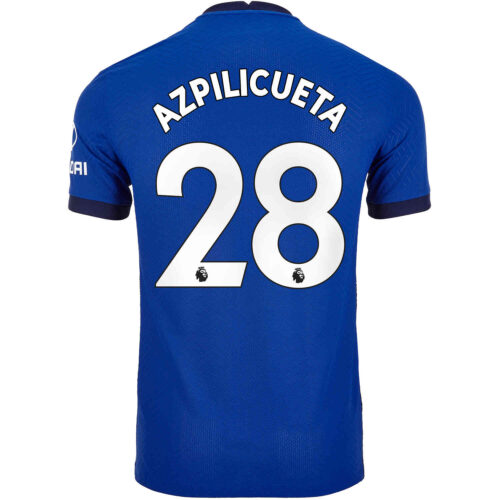 2020/21 Nike Cesar Azpilicueta Chelsea Home Match Jersey