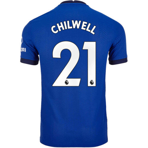 2020/21 Nike Ben Chilwell Chelsea Home Match Jersey