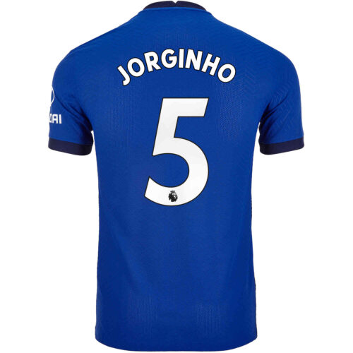 2020/21 Nike Jorginho Chelsea Home Match Jersey