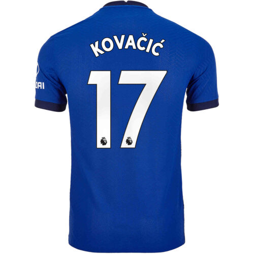 2020/21 Nike Mateo Kovacic Chelsea Home Match Jersey
