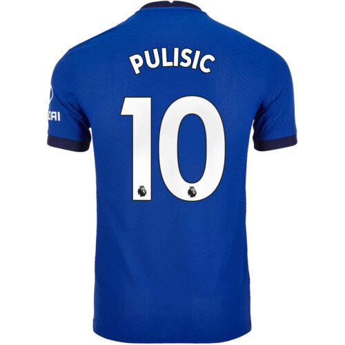 2020/21 Nike Christian Pulisic Chelsea Home Match Jersey