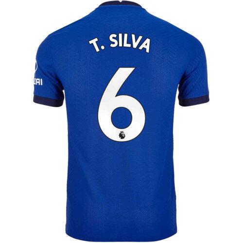 2020/21 Nike Thiago Silva Chelsea Home Match Jersey