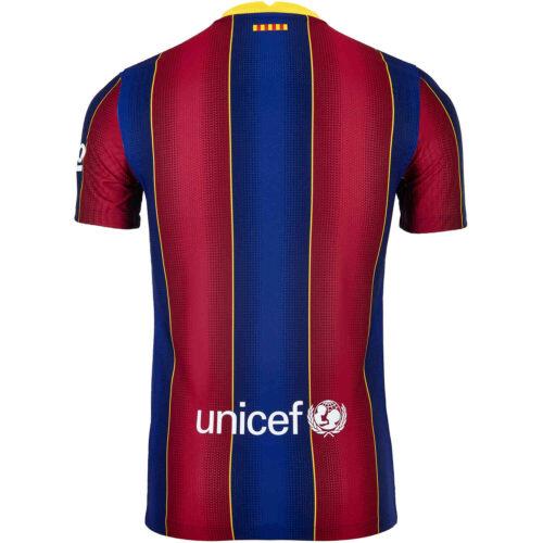 2020/2021 Nike Barcelona Home Match Jersey