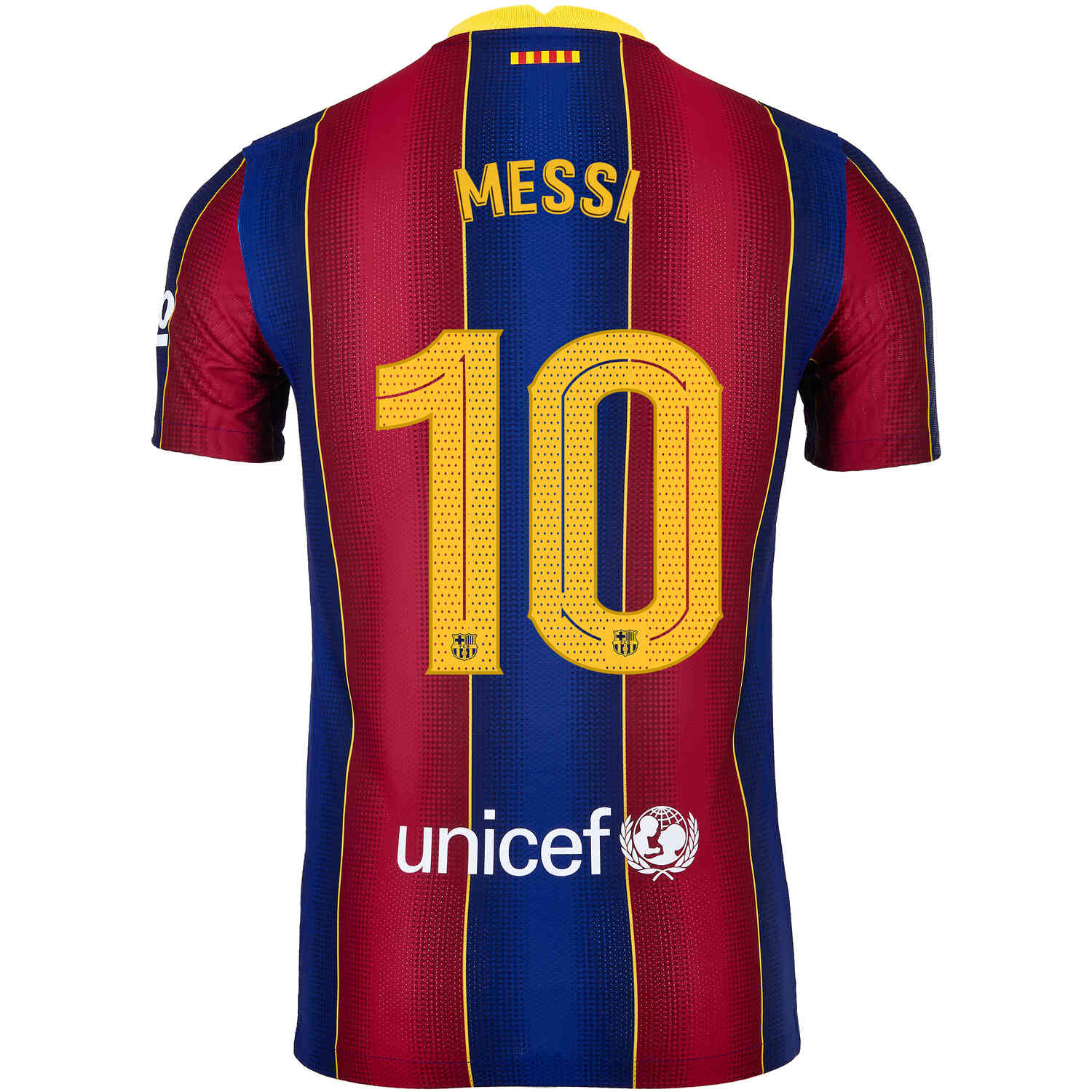 2020/21 Nike Lionel Messi Barcelona Home Match Jersey ...