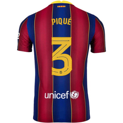 2020/21 Nike Gerard Pique Barcelona Home Match Jersey