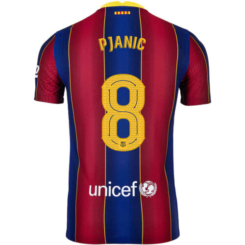 2020/21 Nike Miralem Pjanic Barcelona Home Match Jersey