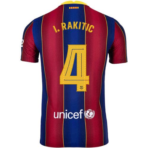 2020/21 Nike Ivan Rakitic Barcelona Home Match Jersey