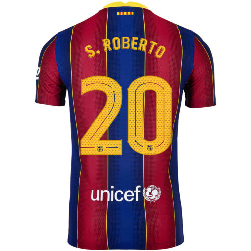 2020/21 Nike Sergi Roberto Barcelona Home Match Jersey