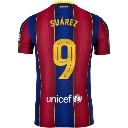2020/21 Nike Luis Suarez Barcelona Home Match Jersey